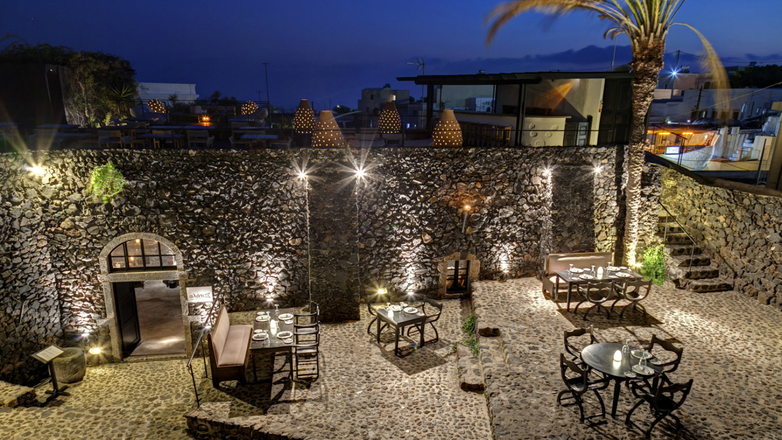 Alati Restaurant at Vedema, a Luxury Collection Resort Santorini, Greece