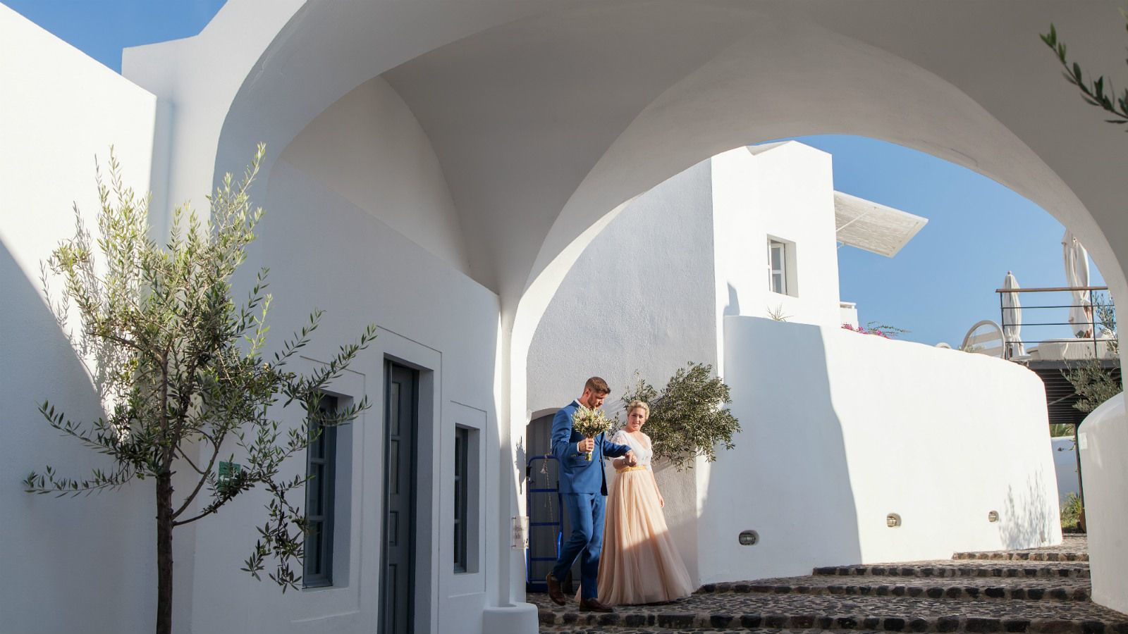 Weddinnds Santorini at Vedema Resort Greece