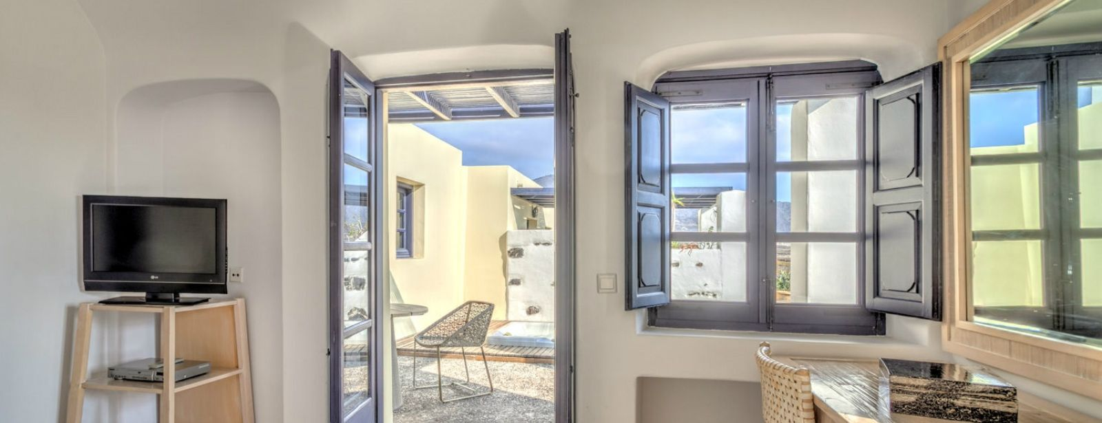 Aegean Suites Vedema resort santorini greece